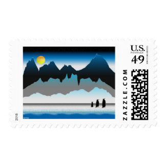 Penguins On The Move Postage