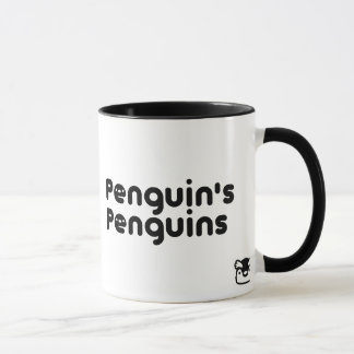 Penguin's Penguins Emperor penguin mag Mug