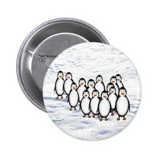 Penguins Pinback Button