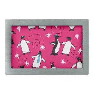 Penguin's Puttin' on the Ritz Belt Buckles