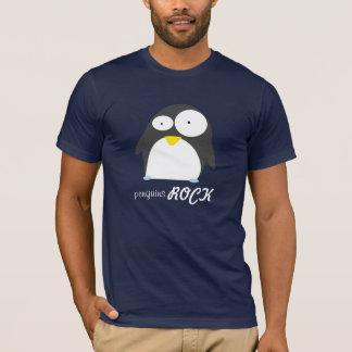 Penguins ROCK dark T-Shirt