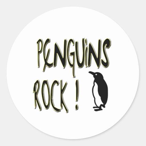 Penguins Rock! Sticker
