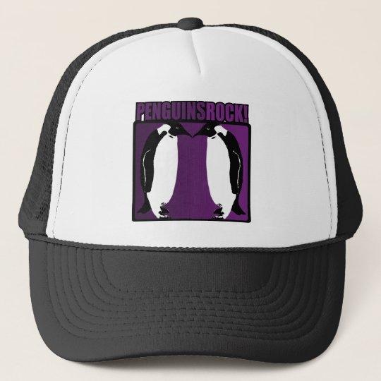 Penguins Rock! Trucker Hat