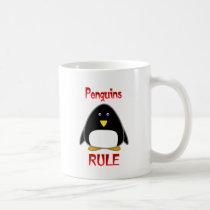 Penguins Rule Coffee Mug