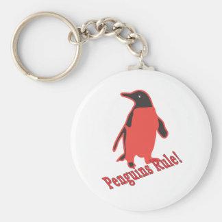 Penguins Rule! Key Chains
