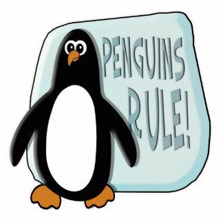 Penguins Rule Cut Outs