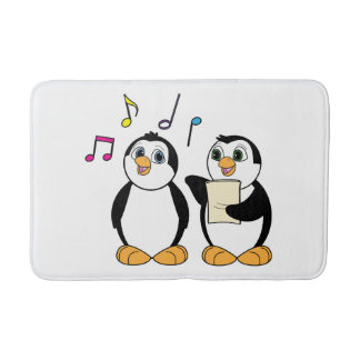 Penguins Singing Bath Mats