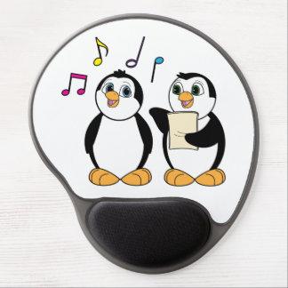 Penguins Singing Gel Mouse Pad