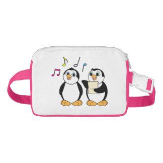 Penguins Singing Nylon Fanny Pack