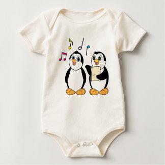 Penguins Singing Romper