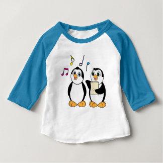 Penguins Singing T-shirts