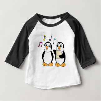 Penguins Singing Tee Shirts
