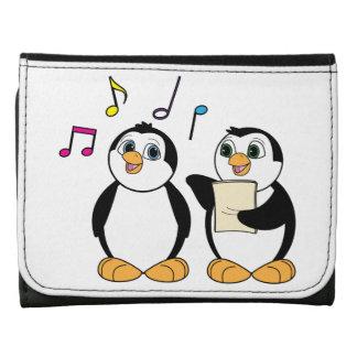 Penguin's Singing Tri-fold Wallet