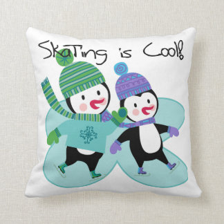 Penguins Skating is Cool Pillows