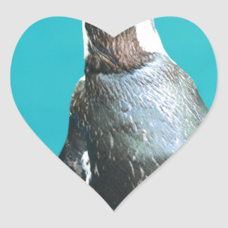 penguins heart stickers