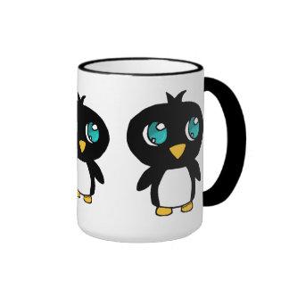 Penguins Taza De Dos Colores