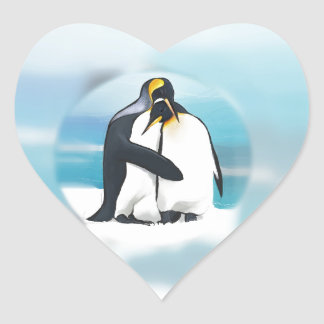 Penguins Through The Igloo Stickers