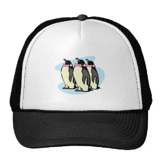 penguins with bowties trucker hat