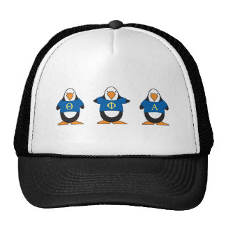 Penguins with Shirts Mesh Hat