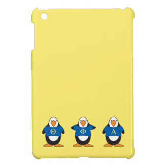 Penguins with Shirts iPad Mini Cover