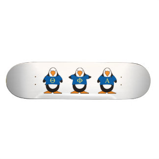 Penguins with Shirts Skate Decks