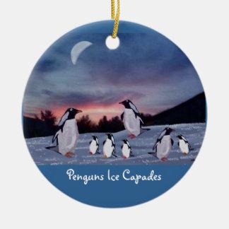 Penguns Ice Capades Ornaments