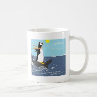 Pengy, Seal Surfing Coffee Mug