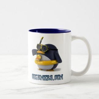 Pengy Swim Coffee Mug