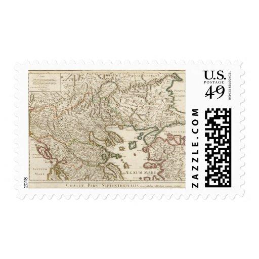 Península balcánica, Grecia, Macedonia 2 Franqueo
