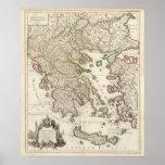 Península balcánica, Grecia, Macedonia Póster