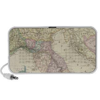 Península balcánica, Italia, Eslovenia 2 Laptop Altavoz