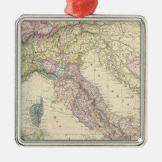 Península balcánica, Italia, Eslovenia 2 Ornamentos De Navidad