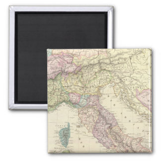 Península balcánica, Italia, Eslovenia 2 Imanes De Nevera