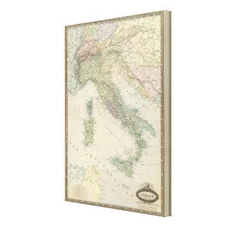 Península balcánica, Italia, Eslovenia 2 Impresion De Lienzo