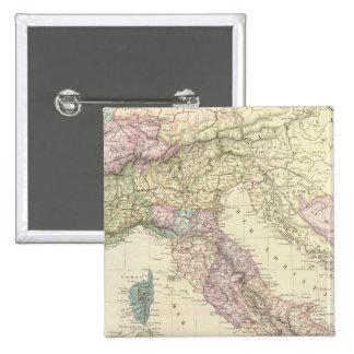 Península balcánica, Italia, Eslovenia 2 Pin