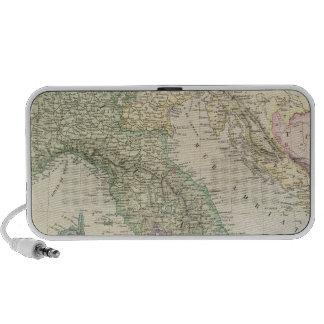 Península balcánica, Italia, Eslovenia Mp3 Altavoz