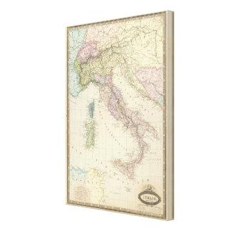Península balcánica, Italia, Eslovenia Lienzo Envuelto Para Galerías