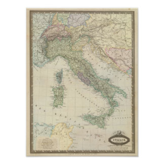 Península balcánica, Italia, Eslovenia Posters