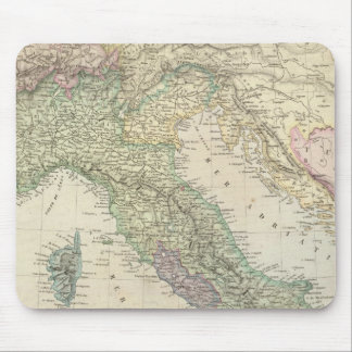 Península balcánica, Italia, Eslovenia Tapete De Ratón