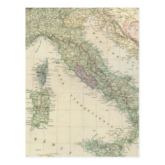 Península balcánica, Italia, Eslovenia Tarjeta Postal