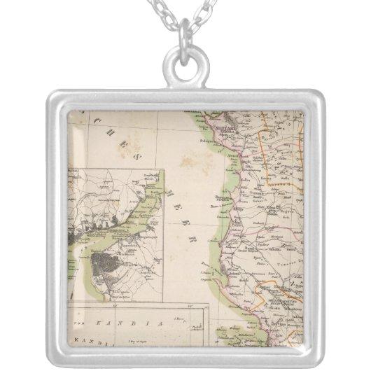 Península balcánica, Turquía, Albania Collar Plateado