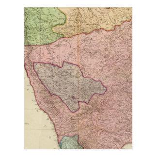 Península compuesta de la India Tarjetas Postales