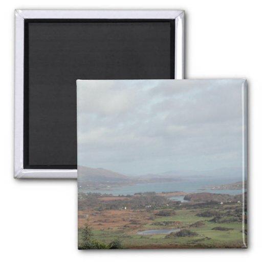 Península de Beara, Irlanda. Vista escénica Imán Para Frigorifico