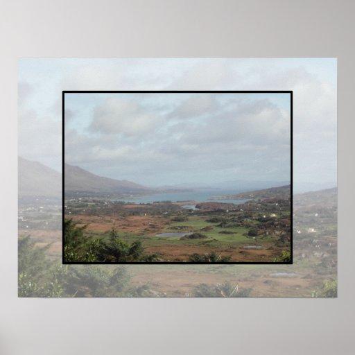 Península de Beara, Irlanda. Vista escénica Posters