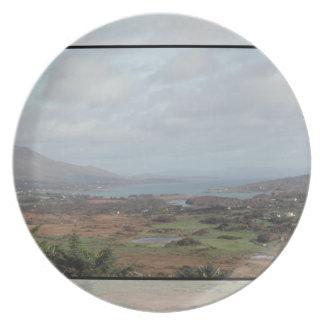 Península de Beara Irlanda Vista escénica Platos De Comidas