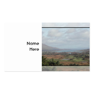 Península de Beara, Irlanda. Vista escénica Tarjeta Personal