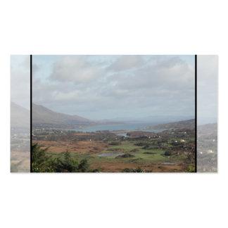 Península de Beara, Irlanda. Vista escénica Tarjetas De Visita