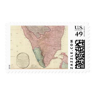 Península de la India del sur Sellos