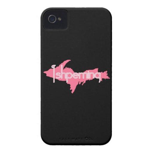 Península de la parte superior de Ishpeming Michig Case-Mate iPhone 4 Protectores