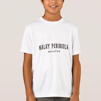Península de Malay Malasia Camisas